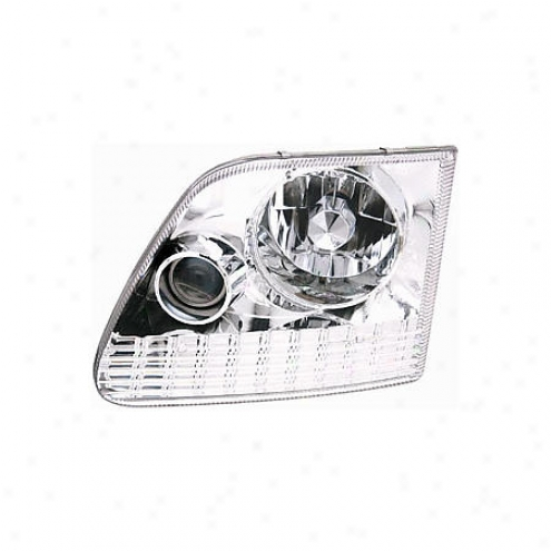 Apc Headlight Lamp Assembly - Custom - 403620hl