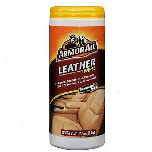 Armor All Leather Wipes (20-count) - 10881