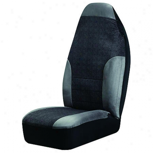 Auto Expressions Alpine Seat Cover, Grey, Universal Bucket - 5066063