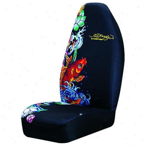 Auto Expressions Ed Hardy Universal Bucket Seat Cover - 800001533