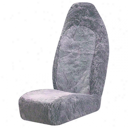 Auto Expressions Sheepskin Ub Silver Seat Cover - 5039157