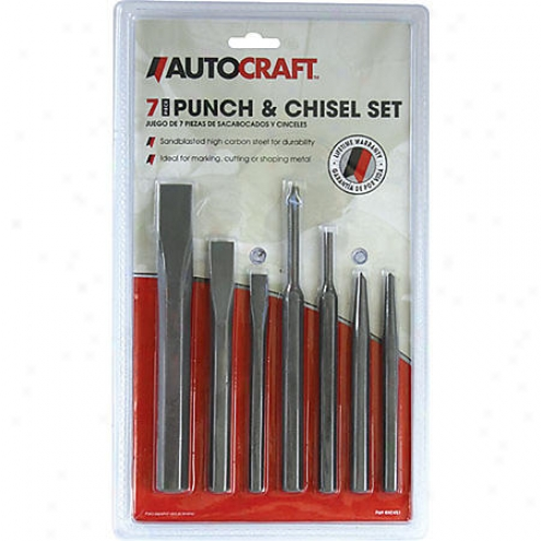 Autocraft 7-piece Punch And Chisel Offer for sale - Ac451
