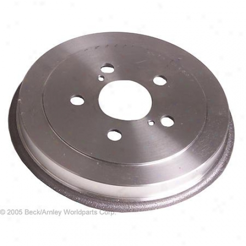 Beck/arnley Brake Drum - Rear - 083-2937