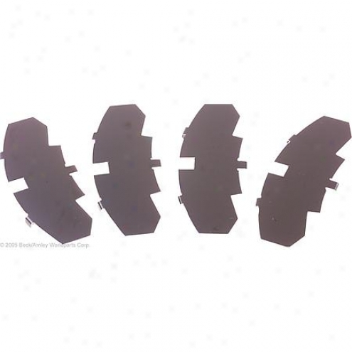 Beck/atnley Brake Pad Shims - 084-2042