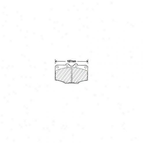 Beck/arnley Brake Pads/shoes - Forepart - 082-0852