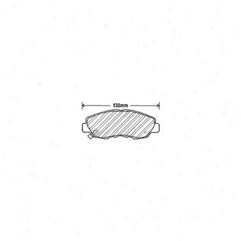 Beck/arnley Brake Pads/shoes - Front - 082-1367