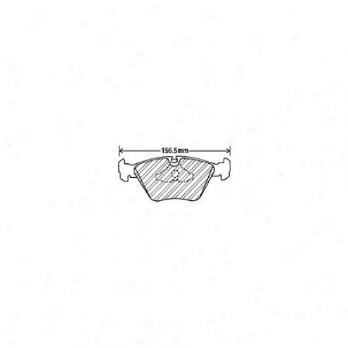 Beck/arnley Brake Pads/shoes - Front - 082-1380