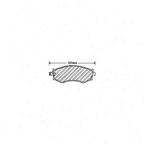 Beck/arnley Brake Pads/shoes - Front - 082-1381