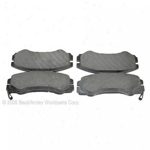 Beck/arnley Brake Pads/shoes - Front - 082-1475