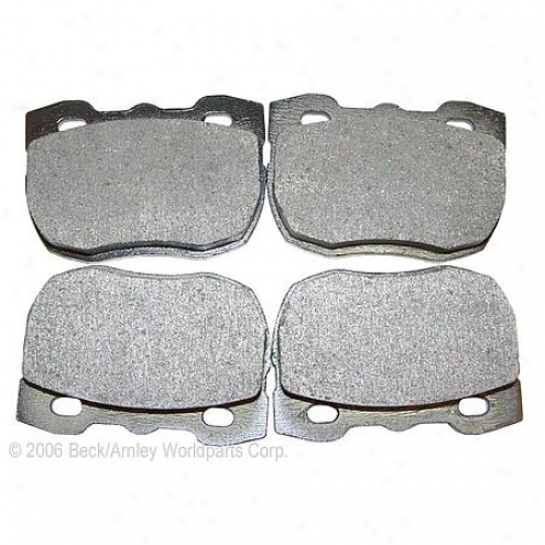 Beck/arnley Brake Pads/shoes - Front - 087-1524