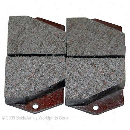 Beck/arnley Brake Pads/shoes - Parking - 082-1437