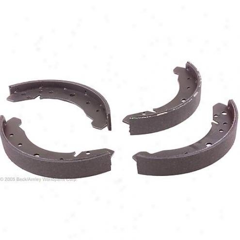 Beck/arnley Brake Pads/suoes - Rear - 081-1554
