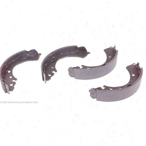 Beck/arnley Brake Pads/shoes - Rear - 081-2503