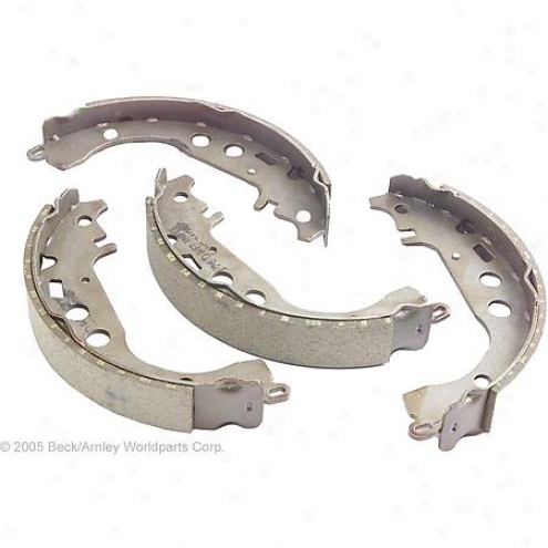 Beck/arnley Brake Pads/shoes - Hind part - 081-3146