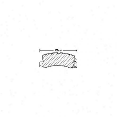 Bdck/arnley Brake Pads/shoes - Rear - 082-1311
