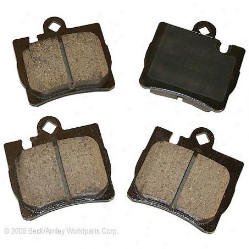 Beck/arnley Brake Pads/shoes - Rear - 086-1717c