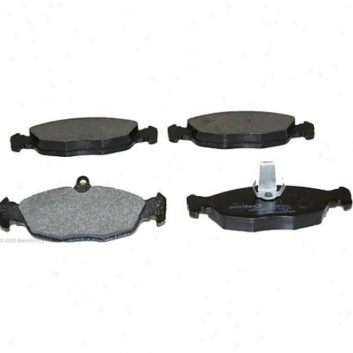 Beck/arnley Brake Pads/shoes - Rear-  087-1625