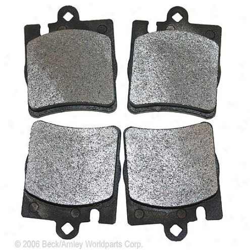 Beck/arnley Brake Pads/shoes - Rear - 087-1629