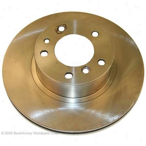 Beck/arnley Brake Rotor - Front - 080-2255