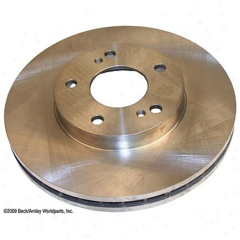 Beck/arnley Thicket Rotor - Front - 080-2386