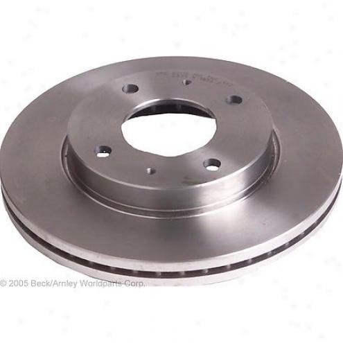Beck/arnley Brake Rotor - Front - 083-2902