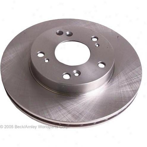 Beck/arnley Brake Rotor - Front - 083-2911
