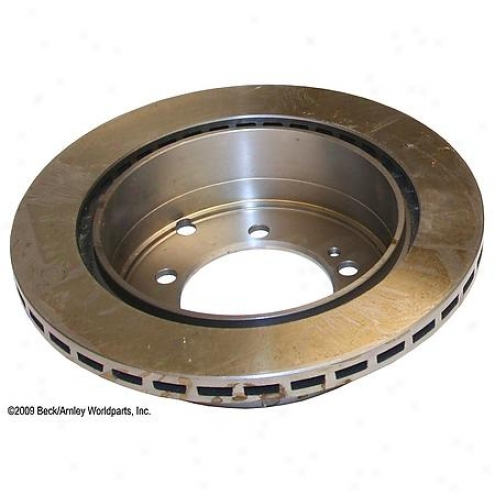Beck/arnley Brake Rotor - Rear - 080-2473
