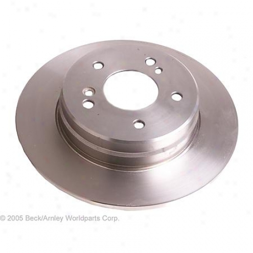 Beck/arnley Brake Rotor - Rear - 083-Z358