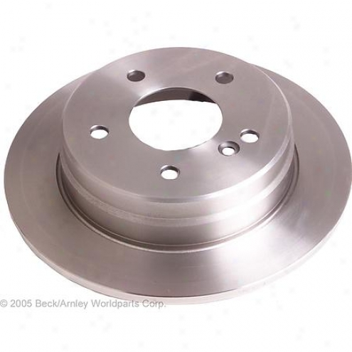 Beck/arnley Brake Rotor - Rear - 083-2628
