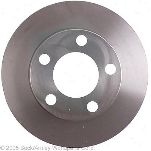 Beck/arnley Brake Rotor - Rear - 083-2746