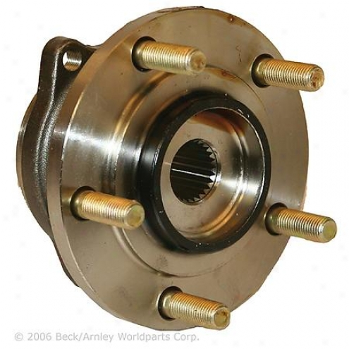 Beck/arnnley Wheel Bearing - Rear - 051-6058