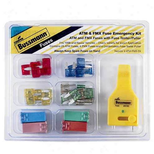 Bussmann Fuse Assortments - Atm-fmx-ek