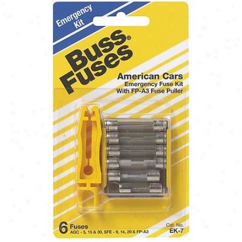 Busamann Glass Fuses - 5 Pack - Ek-7