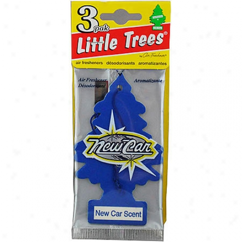 Car Freshner Little Trees Recent Car Scent Air Fresheners (3-pac) - U3s-32089