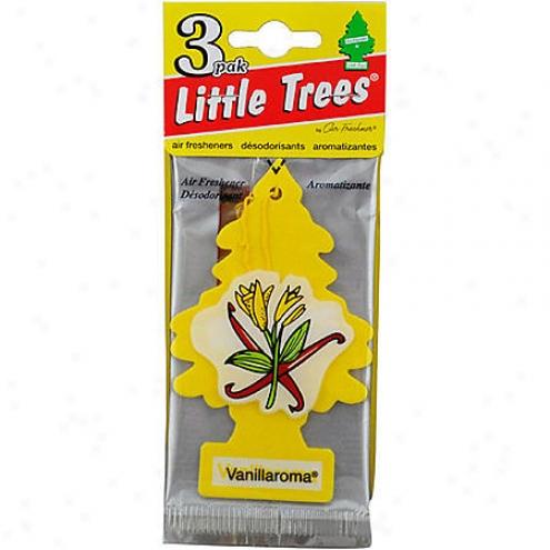 Car Freshner Little Trees Vanillaroma Air Fresheners (3-packk) - U3s-32005