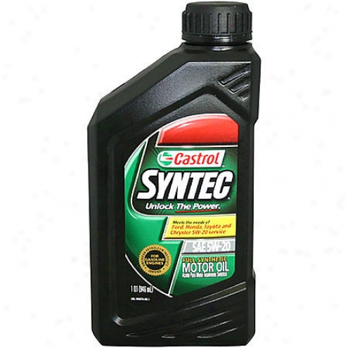 Castrol synthetic oil 5w20 autos post for What s the difference between 5w20 and 5w30 motor oil