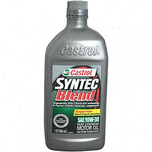 Castrol Syntec Blend 10w-30 Part-synthetic Motor Oil (1 Qt.) - 06392