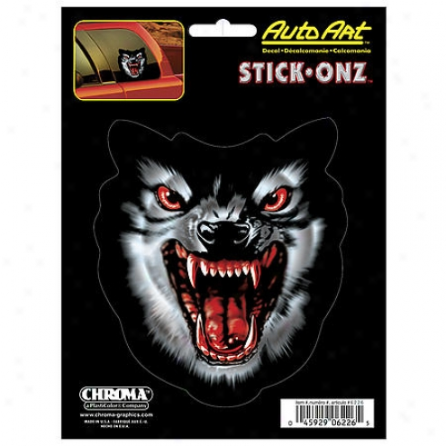 Chroma Graphics Dcal Wolfpack Auto Art - 23125/6226