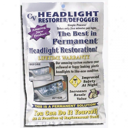 Crystal View Headlight Restorer/defogger - 00101