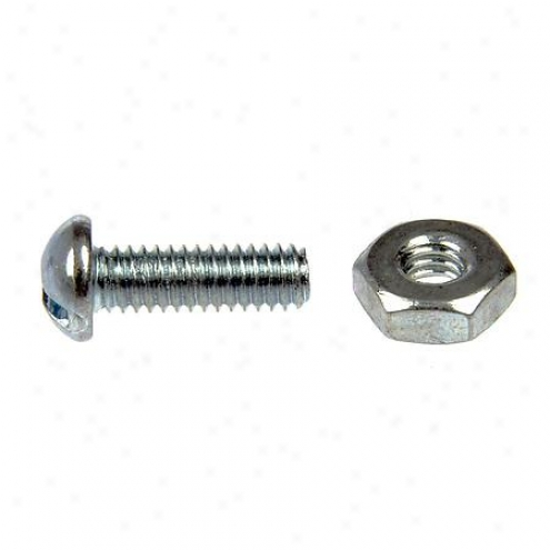 Dorman Machine Screws - Round Head Slotted - 44420