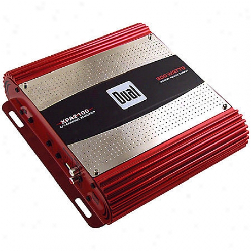 Dual Electronics 300w Arrange A/b 2-channel Bidgeable Mosfet Amplifier - Xpa2100