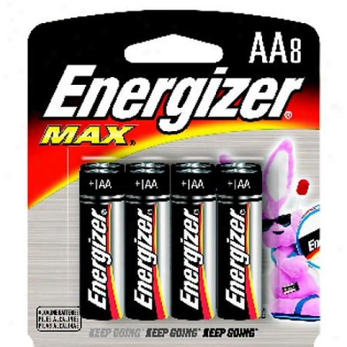 Energizer Max Aa Alkaline Batteries (8-pack) - E91bp-8