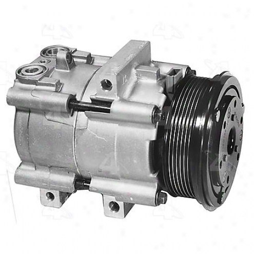 Factory Air A/c Compressor W/clutch - 57123
