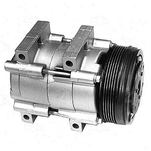 Factory Air A/c Compressor W/clutch - 57132