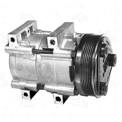 Factory Air A/c Compr3ssor W/clutch - 57133