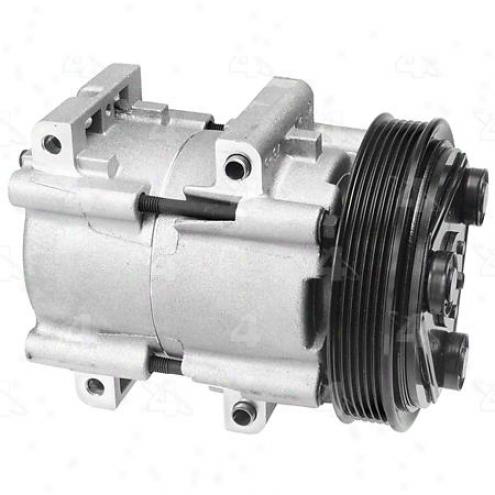 Factory Air A/c Compressor W/clutch - 57163