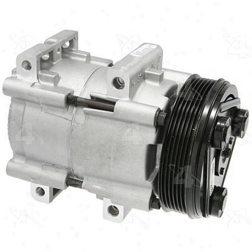 Factory Air A/c Compressor W/clutch - 57166