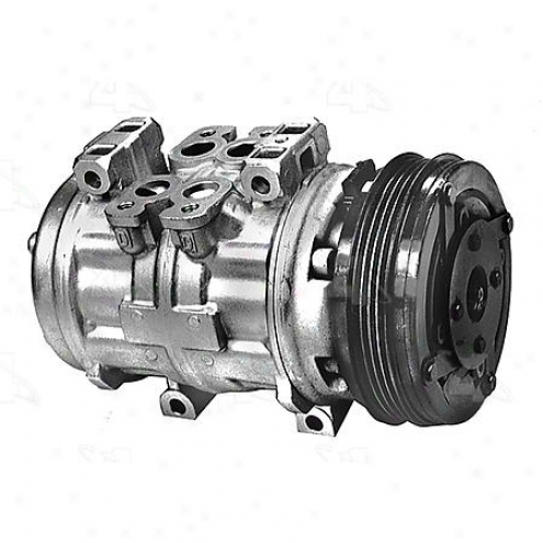 Factory Air A/c Compressor W/clutch - 57363