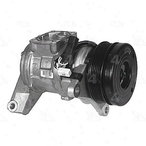Factory Expose A/c Compressor W/clutch - 57378