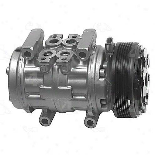 Factory Air A/c Compressor W/clutch - 57385